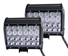 2 x 72W 6.5 '' CREE  FLOOD SPOT WORK LIGHT BAR DRIVING OFFROAD 4WD BOAT TRUCK