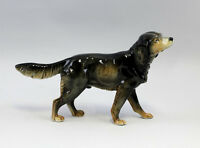9941341 Porzellan Figur Hund Setter Ens 26x16cm