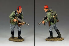 KING AND COUNTRY WWII German Mountain Division Advancing NCO WSS255 WS255