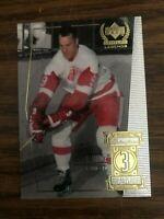 1999-00 Upper Deck Legends  #3 Gordie Howe Detroit Red Wings NrMt