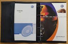 GENUINE VW FOX HANDBOOK OWNERS MANUAL 2005–2011 BOOK REF E-602