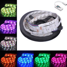 Car 5050 RGB LED Strip Light And RGB Wifi LED Controller APP iOS iPhone Android