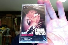 Final Analysis- film soundtrack- George Fenton- new/sealed cassette tape