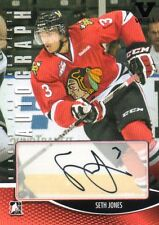SETH JONES 2012-13 IN THE GAME HEROES AND PROSPECTS AUTOGRAPHED HOCKEY CARD