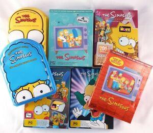 The Simpsons DVD box set Bulk seasons 2,5,6,7,8,9,11