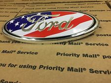 "NEW FORD TRUCK FRONT HOOD GRILL GRILLE EMBLEM LOGO OVAL BADGE SIGN 9"" USA"