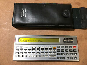 TRS-80 pocket computer With Case - TESTED/WORKS