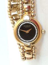 RAYMOND WEIL Damen Armband Uhr / LADIES 18K GOLD PLATED. BRACELET WATCH