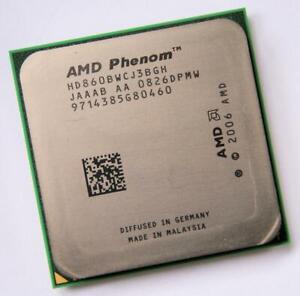 AMD Phenom X3 HD860BWCJ3BGH Triple-Core 2.3GHz/2M Socket AM2 AM2+ Processor CPU