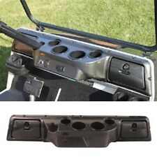 Club Car DS Golf Cart Dash Board Cover In Carbon Fiber Color 4 Cup Holder