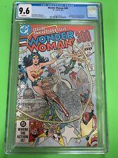 WONDER WOMAN #300 CGC 9.6 1st LYTA TREVOR FURY ANNIVERSARY ISSUE DC COMICS 1983