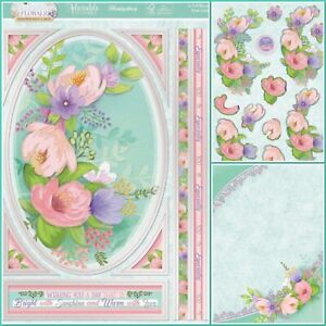 Hunkydory Foiled Card Kit 3D Decoupage - In Full Bloom Floral Spray - Flowers