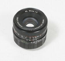 50MM 50/2 Yashica ML SLR Obiettivo Convertito Per Leica Filo Crf / 163472