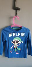 Elf Christmas Tshirt Long Sleeved 3 To 4 Years boys girls kids christmas