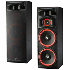 1 Pair (2)  Cerwin-Vega XLS-215 Dual 15in Floor 3-way Speakers