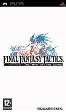 Final Fantasy Tactics:The War of the Lions PSP UMD PlayStation Video Game UK Rel