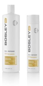 Bosley MD BosDefence Colour Safe Nourishing Shampoo 300ml and 1L Available!