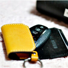 Car Cow Leather Smart Key Holder Case Bag Remote Accessories Genuine protect