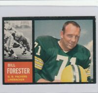 BILL FORESTER #73 (SP) 1962 TOPPS FOOTBALL MID-GRADE(EX) SET BUILDER*****