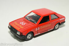 CORGI TOYS FORD ESCORT DATAPOST RALLY RED NEAR MINT CONDITION