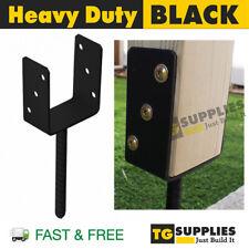 Heavy Duty Galvanised U Shape Pergola Gazebo Post Support Foot Base CONCRETE IN