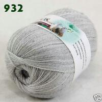 Sale 1 ball x50gr LACE Soft Crochet Acrylic Wool Cashmere hand knitting Yarn 932