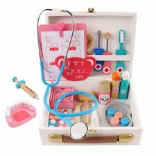 Doctor Pretend Toy Set Kids Play Medical Dentist Kit Educational Learning Case
