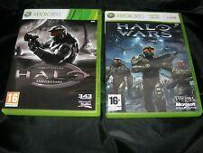 Halo Combat Evolved Anniversary + Wars XBox 360 FREEPOST