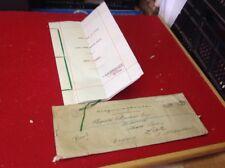 Old South Africa Document 1928 Moon River, T.C Heathcote Wedgwood, Henshaw ,Leek