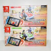 Mario Kart Live Home Circuit Mario & Luigi Set Of 2 Bundle Nintendo Switch 2020