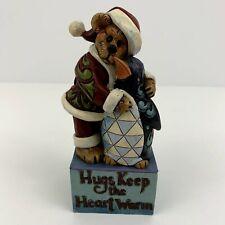 "Boyds Bears/Jim Shore 2011 Jolly Ol' Klausbeary with Waddles.Frosty Friends 6"""