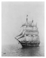 Circa 1922 Whaling Ship Wanderer 8x10 Silver Halide Photo