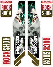 ROCK SHOX  FORK Stickers Decals Mountain Bike Down Hill MTB #b042