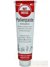 ROTWEISS Polierpaste Lackpolitur 100 ml Tube