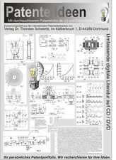 Freie Energie, Thomas E. Baerden Patente 65 Seiten