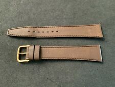 18MM Genuine Leather Watch Strap Band MADE IN FRANCE