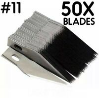 50PCS #11 Blades for x-acto Light Duty Knife Replacement Hobby Arts Craft xacto