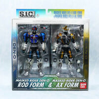 Masked Kamen Rider Den-o Rod Form Axe S.I.C. Limited Action Figure BANDAI