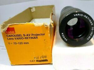 KODAK CAROUSEL S-AV Projector Lens VARIO-RETINAR f= 70-120mm MC multi-coated