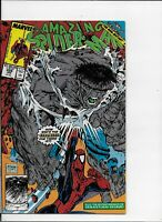 THE AMAZING SPIDER-MAN #328 NM (9.4) COSMIC SPIDEY VS GREY HULK LAST MCFARLANE