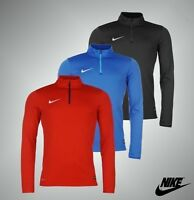 Mens Nike Dri-Fit Academy 1/4 Zip Mid Layer Top Sweatshirt Sizes from S to XXL