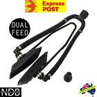 DUAL FEED OUTBOARD FLUSHER EAR MUFFS BOAT ENGINE MOTOR WATER WARRANTY & FASTPOST