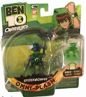 Ben 10 Omniverse Omni-Plasm Spidermonkey Action Figure NEW Creased Spider Monkey