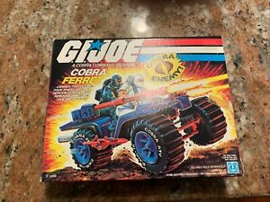 GI JOE REAL AMERICAN HERO COBRA FERRIT 1985 MWB