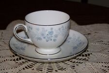 Wedgwood - Belle Fleur R4356 - Cup and Saucer Set (Superior condition)