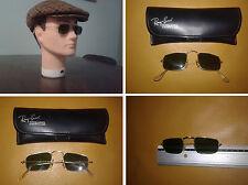 B&L Ray-Ban W0982 Arista Sunglasses Vintage Pre-Luxottica Lenti Bausch & Lomb