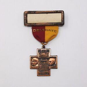 1921 United Spanish War Veterans Encampment Medal - Minneapolis, MN - USWV