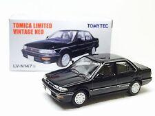 JAPAN TOMYTEC TOMICA LIMITED VINTAGE LV-N147b TOYOTA COROLLA BLACK GT205 1/64