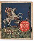 Late 1890s Dr. Morse's Indian Root Pills Quack Medicine Advertising Brochure VTG