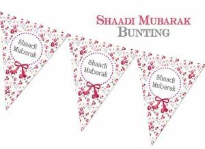 Shaadi Mubarak Bunting  - Nikaah Walimah Nikah